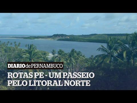 Rotas PE - Passeio pelo litoral norte de Pernambuco