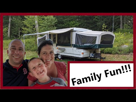 Our First Camper! Coleman Utah Pop Up Camper - Overview, Tour and Updates
