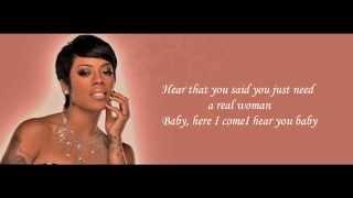 Keyshia Cole - Wonderland (Feat. Elijah Blake) Lyrics HD