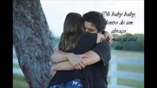 Dentro de um abraço (letra)