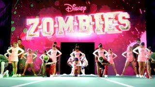 BAMM Cheer Routine | ZOMBIES | Disney Channel