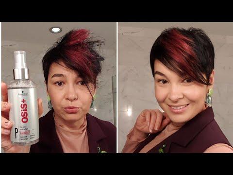 Как уплотнить тонкие волосы и создать стойкий объем на короткой стрижке photo