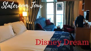 Disney Dream Stateroom Tour - Room 10014 | beingmommywithstyle