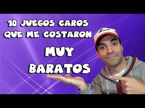 10 JUEGOS CAROS QUE ME COSTARON MUY BARATOS | Top 10 + BONUS