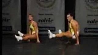 National Aerobics Championship 1991 Mixed Pair