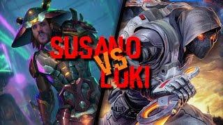Susano vs Loki - La chance du lag width=