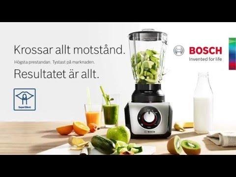 Marknadens tystaste blender - Bosch SilentMixx