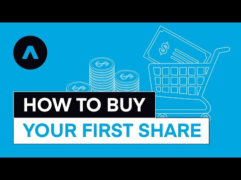 How to Buy Your First Share