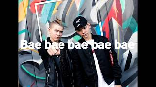Marcus & Martinus bae lyrics video (finnish)