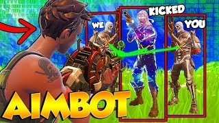 I got Kicked from FaZe Clan for Aimbot?! ( TFUE GOT MAD )