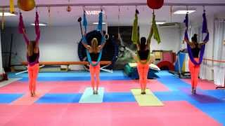 "Theme from ""Life Is Beautiful"" Aerial Pilates Choreography (Riaction Gym)"