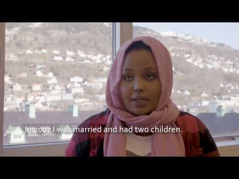 Yasmin Salah i Bergen och Rana Ahmad i Helsingfors