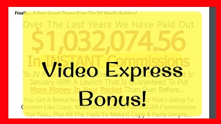 Video Express Bonus - Review of Video Express -- NEW! --