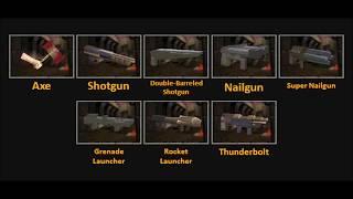 Quake 1: Weapon Sound Effects