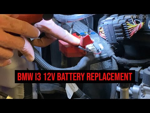 How To Replace The 12V Battery in The BMW i3 | GUIDE