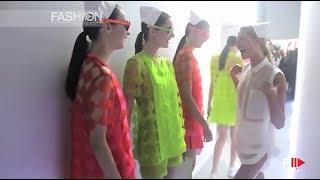 2nd FLOOR Backstage Summer 2014 Rio de Janeiro - Fashion Channel