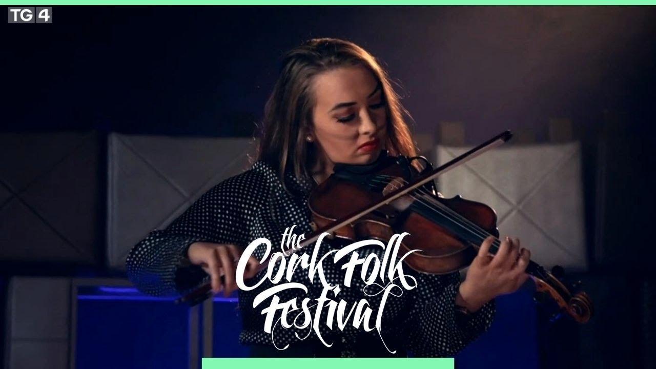 Sarah O' Gorman performs at the Cork Folk Festival