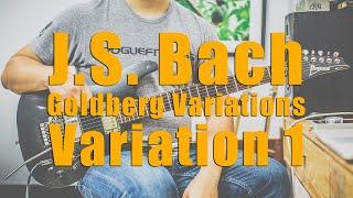 FT -  Goldberg Variations, Variation 1 (J.S. Bach cover)