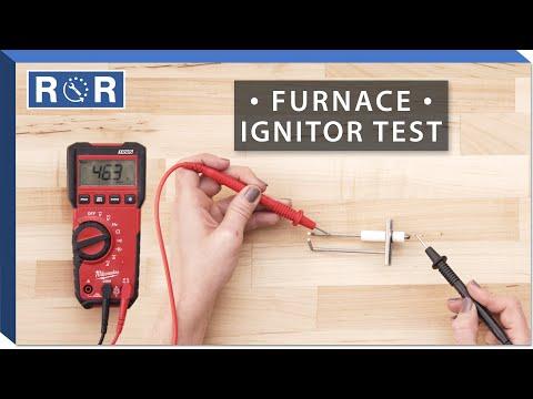 Lennox # 73K38 - Continuity Test (Gas Furnace Ignitor)