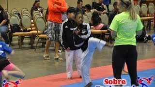 Peak Performance Taekwondo Camp 2013 Warm Up