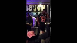 MIC MICH live from Austin's Coffee 3-7-2016  DJ DIZZLE PHUNK R.C MIKE