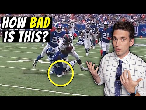 Jerry Jeudy Nearly Breaks His Ankle - Doctor Explains What Happened