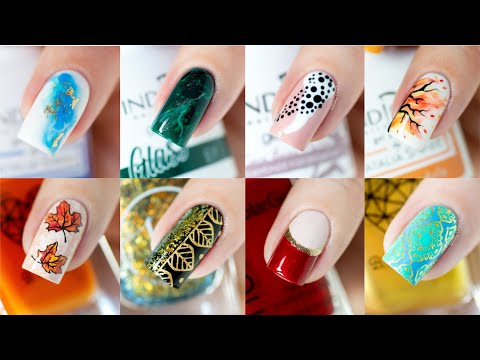 NAIL ART COMPILATION - My Favorite Designs of Last Year