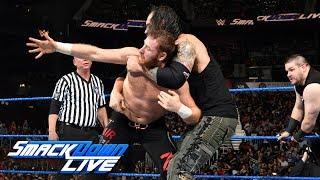 Shinsuke Nakamura & Sami Zayn vs. Kevin Owens & Baron Corbin: SmackDown LIVE, May 30, 2017