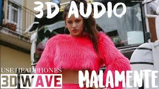 ROSALÍA - MALAMENTE | 3D Audio (Use Headphones)