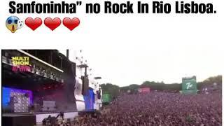 Anitta movimento sanfoninha no Rock in Rio Lisboa