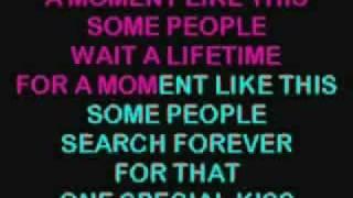 A Moment Like This Karaoke - Kelly Clarkson_1.WMV