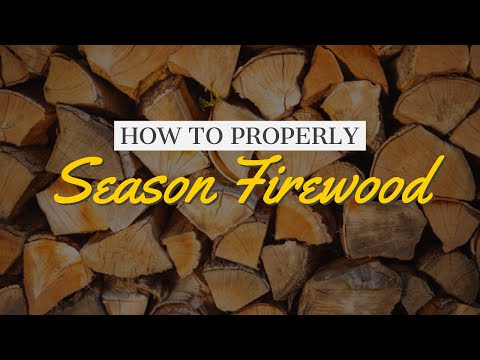 How to Season Firewood Properly