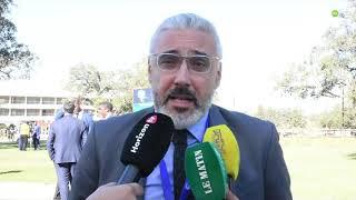 Hamza Hajoui commente l'action conjointe CAF/FIFA pour le développement du football africain