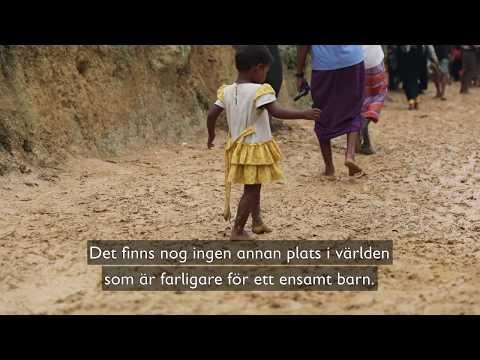 """""""Barn ska inte behöva vara här"""" - Hjälp rohingya-barnen"""