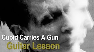 Cupid Carries A Gun by Marilyn Manson (Guitar Lesson)