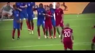 Os melhores momentos Final Euro'2016