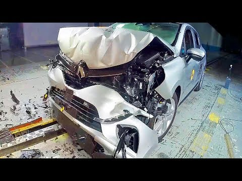 "RENAULT CLIO 5 (2019) Safest Small Car"" CRASH TEST"