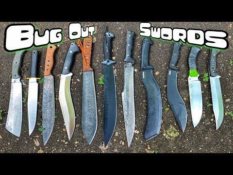 Massive Oversized Bug Out Swords