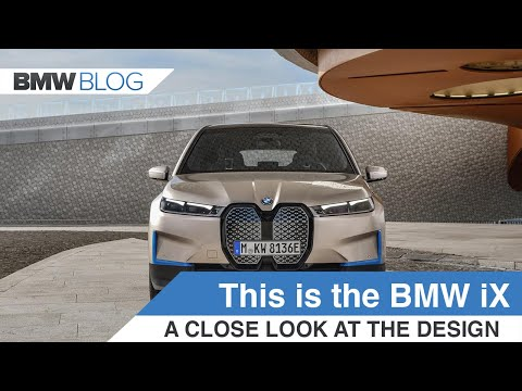 BMW iX presented by Adrian Van Hooydonk, BMW Group Head of Design