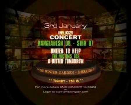 Concert Bangladesh 08 – Sidr 07 TVC