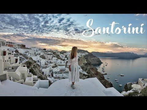 Santorini, Greece: from magical sunrise to dreamy sunset