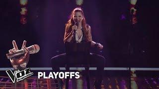 "Playoffs #TeamSole: Agostina canta """"Man! I feel like a woman"" de S. Twain - La Voz Argentina 2018"