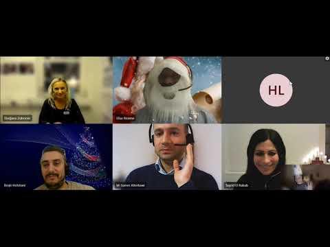 God jul från BIU - Blekinge Integrations och Utbildningscenter