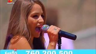 Vanessa Silva & David Antunes - Não te quero mais (Festa Continente - TVI)