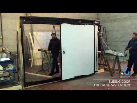 Sliding Door Anti-Crush System