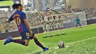 PES 2019 - Free Kick Compilation #4 HD PS4 PRO