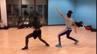 Yemi Alade Tumbum dance practice Reis Fernando 2016
