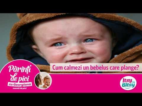 Cum calmezi un bebelus care plange?
