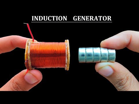 New Idea ! Make a 12V Motion Sensitive Linear Generator from Synchronous Motor