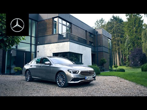 Exterior Design | The Exciting Look of the New E-Class